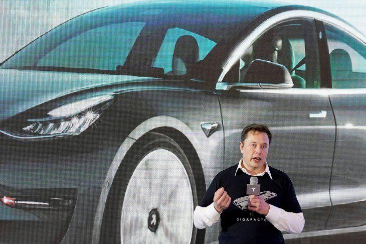 IMAGEN DE ARCHIVO. El CEO de Tesla Inc
