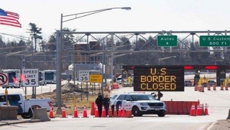 EE.UU. amplía un mes más el cierre de su frontera con México debido al COVID