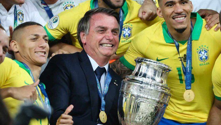 Bolsonaro ratificó la Copa América en Brasil
