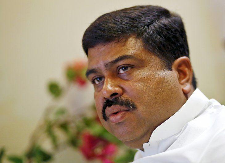 Imagen de archivo del ministro de Petróleo de India