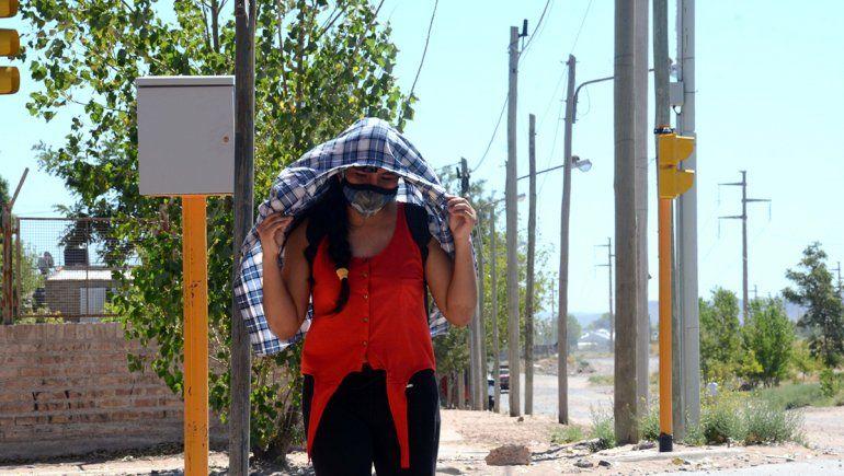 Arde la ciudad: Neuquén alcanzó los 39°C y fue la más calurosas del país