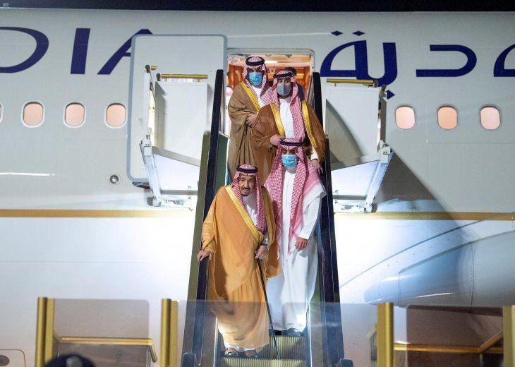 El príncipe heredero de Arabia Saudita