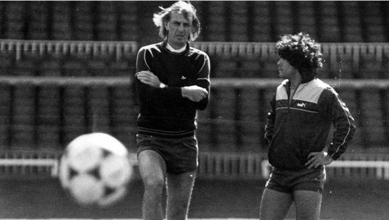 Maradona y Menotti, compartieron el Mundial de España '82.