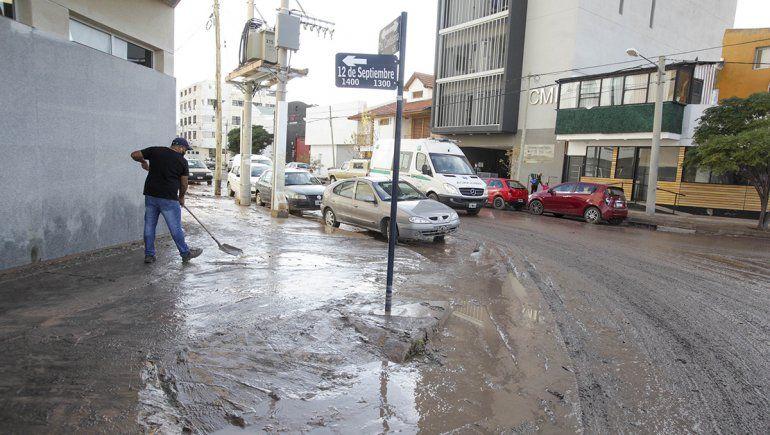 Las consecuencias de la tormenta en Neuquén.