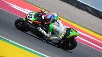 Marco Solorza corrió la primera final del Mundial de Superbike