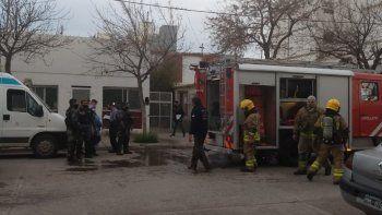 murio un hombre en el centro de cipolletti en un incendio