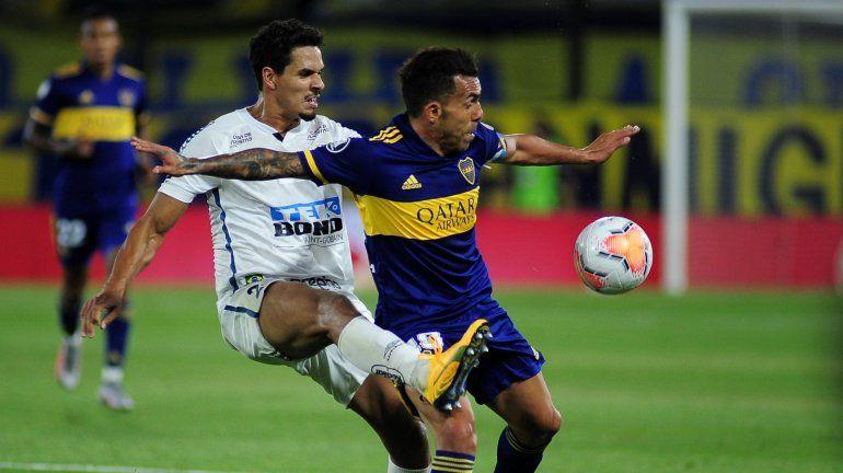 Boca no puede perder en Brasil, ante el Santos: hora, TV y formaciones
