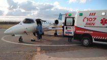 entre abril y mayo hubo 18 vuelos sanitarios de emergencia