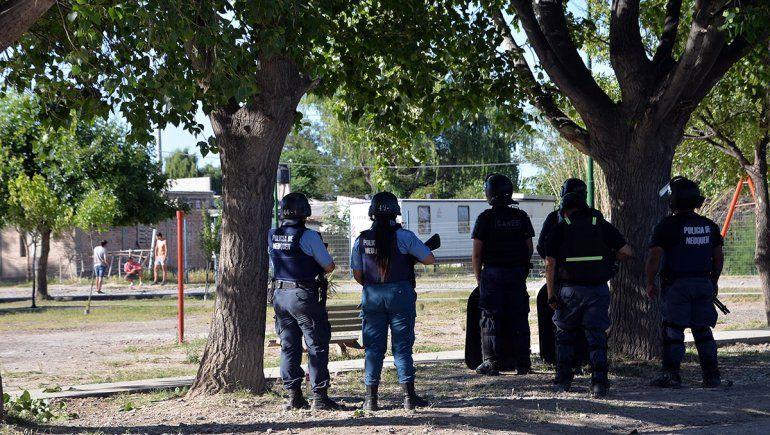 Tensión, tiroteo y un muerto en Valentina Sur