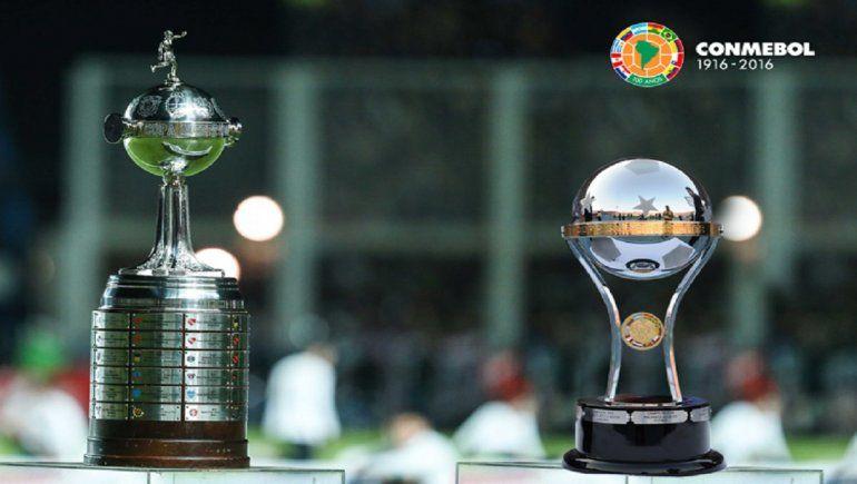 Clubes clasificados a la Copa Sudamericana y Libertadores