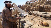 revelan detalles de la ciudad faraonica que hallaron bajo la arena