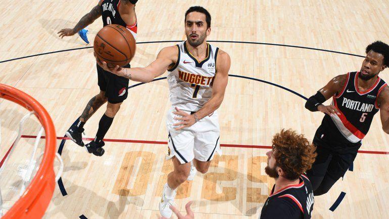 Campazzo y los Nuggets irán por un triunfo clave ante Portland