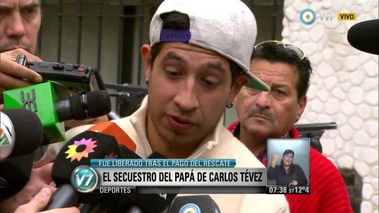 Cuando Tevez negoció el rescate de su padre secuestrado