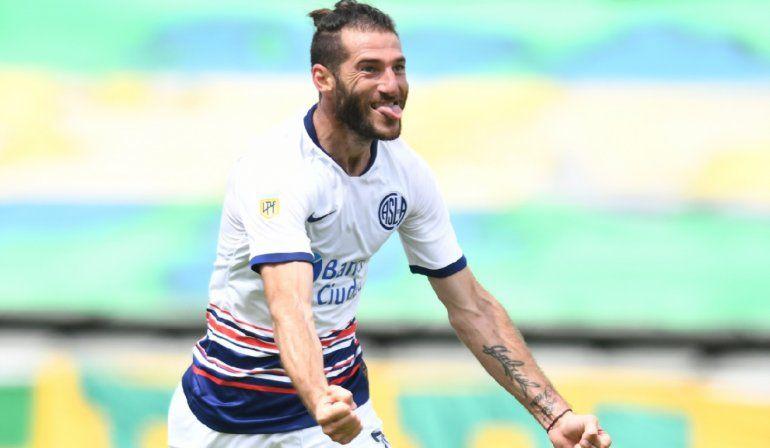 Nacho Piatti jugó en gran nivel y volvió a convertir para el Ciclón.