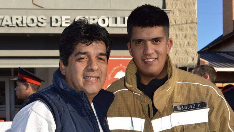 Estuvo a punto de morir ahogado en el Mari Menuco, pero su hijo lo salvó