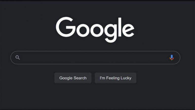 Google activó el modo oscuro para el buscador web en cualquier navegador