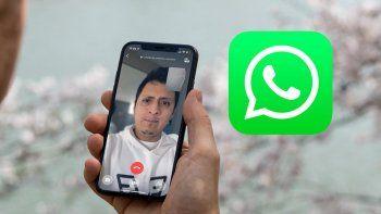 WhatsApp: así podés difuminar el fondo de tus videollamadas.