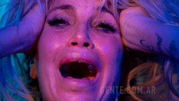 El llanto de Flor Peña tras ser criticada por una nota