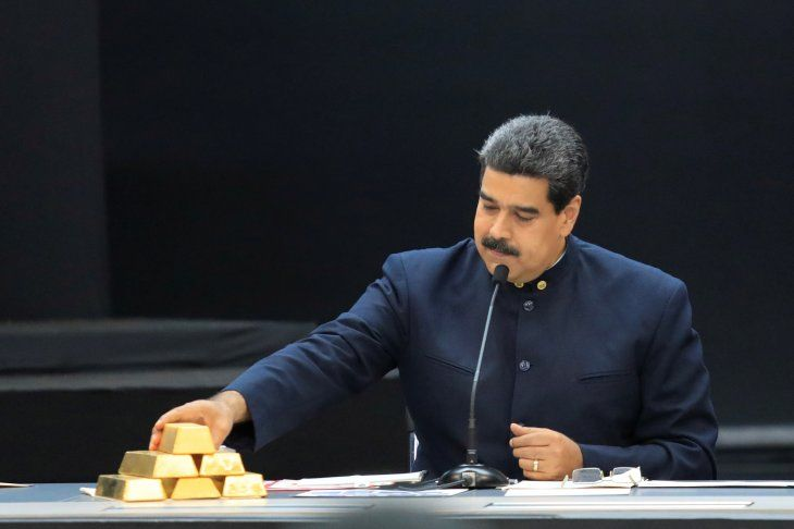 Foto de archivo del presidente de Venezuela
