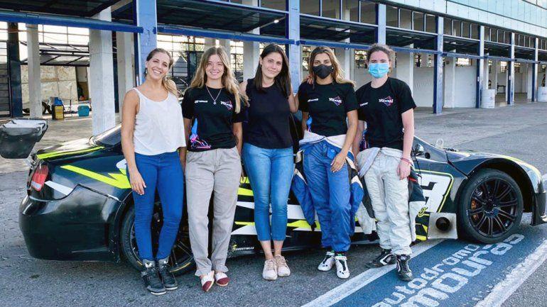 Histórico: el primer equipo femenino del automovilismo argentino
