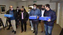 elecciones municipales: hubo acuerdo de listas y no habra internas en el mpn