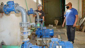 mejoraran la calidad de agua potable de mariano moreno
