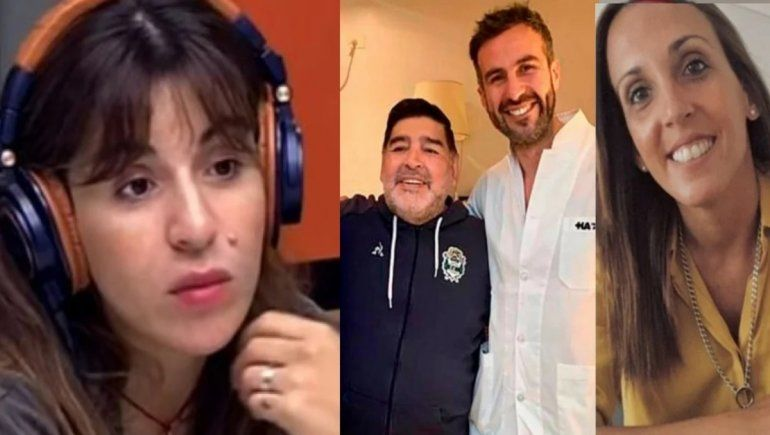 Los mensajes de Gianinna Maradona tras los polémicos chats de Luque