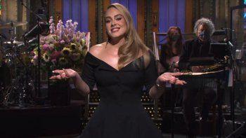 Adele volvió a la televisión y deslumbró con su nueva figura