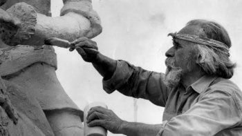 pichon gomez, el artista que dejo su huella en zapala y san martin