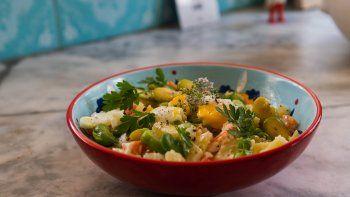 receta facil y clasica: ensalada rusa