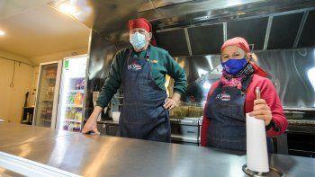 inseguridad y pandemia ponen en jaque al primer food truck neuquino