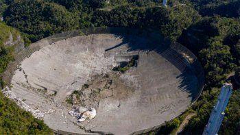 puerto rico: colapso una plataforma de 900 toneladas