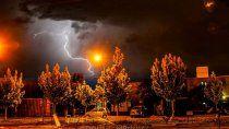 pronostico: alerta meteorologica por posibles tormentas electricas