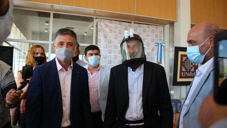 La Rioja: crearon máscara para evitar el coronavirus