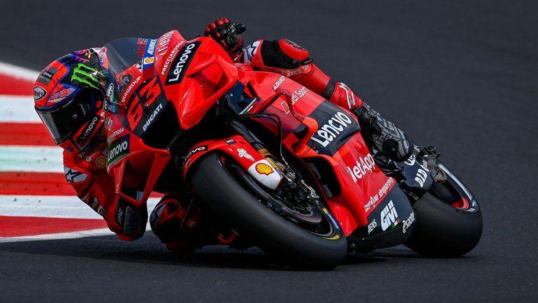 Francesco Bagnaia ganó la carrera del MotoGP en San Marino