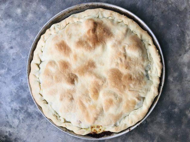 Receta: tarta de verdura con masa casera