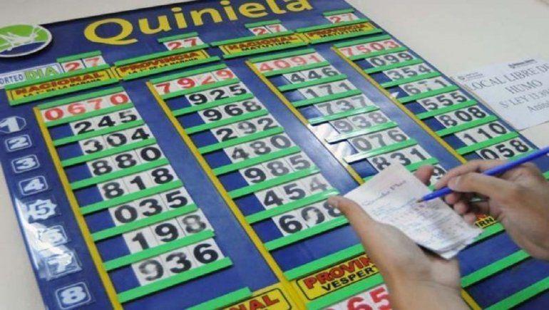 Números ganadores del sábado 23 de enero en la Quiniela de la Provincia.