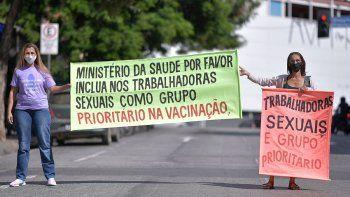 prostitutas estan de paro porque no las vacunan