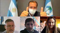 tres aniversarios se festejaron por videoconferencia