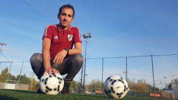 Adrián Martín, impulsó el protocolo para que vuelva el fútbol infantil.