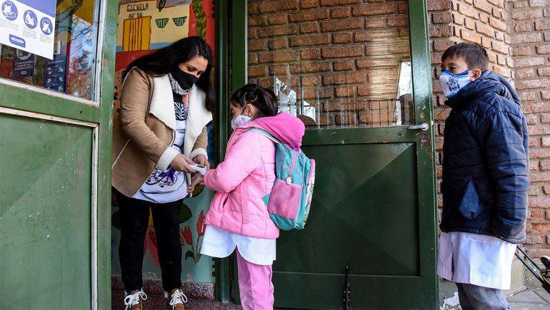 Presencialidad en las escuelas de Neuquén.