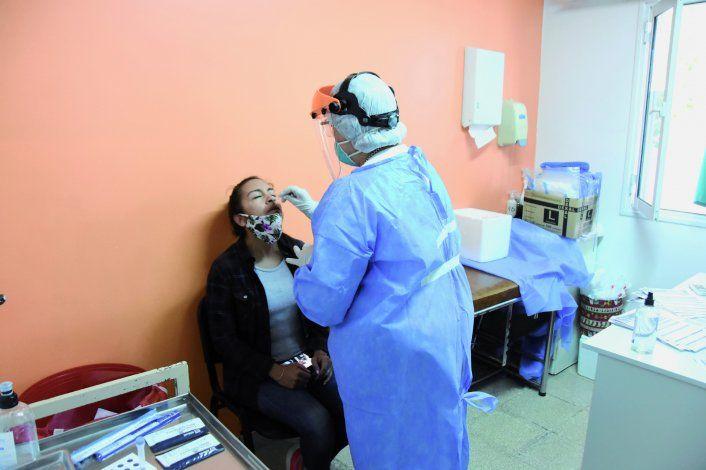 En la provincia se registraron 484 nuevos casos de coronavirus.