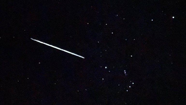 ¿Qué fue la fila de luces en el cielo que sorprendió al Alto Valle?