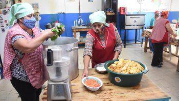 Faltan donaciones y los comedores reducen las viandas
