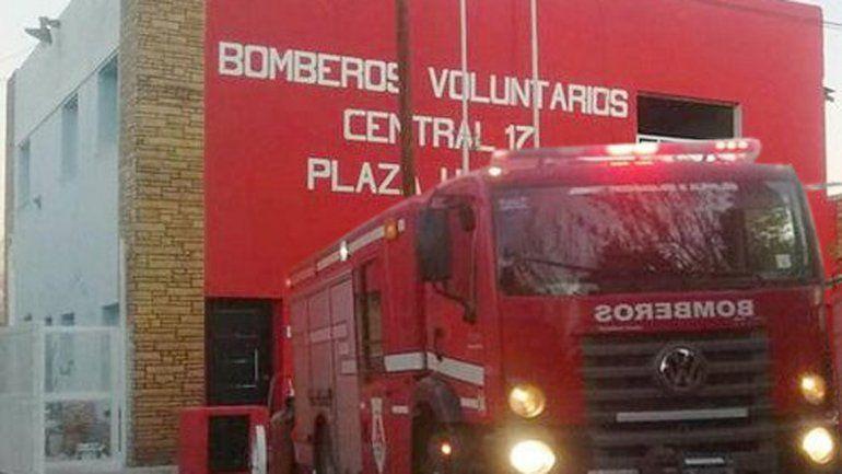 El cuartel de bomberos de Plaza Huincul atraviesa una crisis.