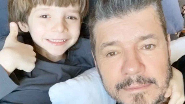 El tierno saludo de Tinelli y a su hijo Lolo por su cumple