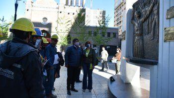 Gaido inauguró la transformación de la Avenida Argentina