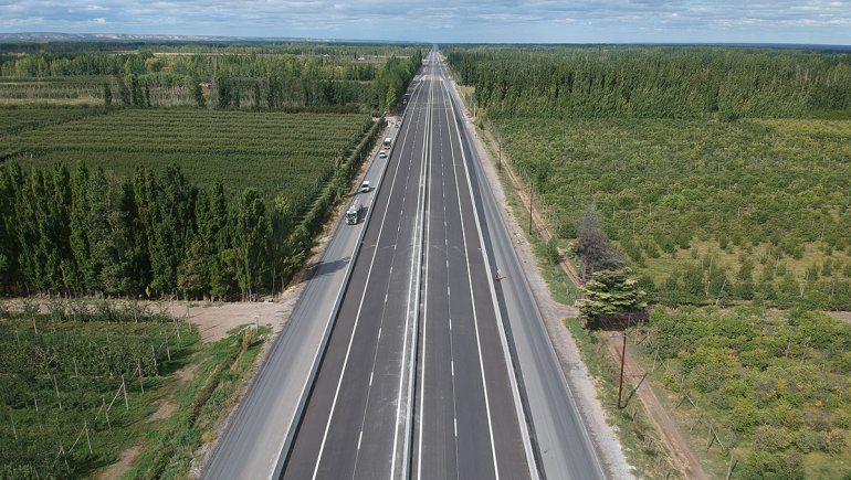 Habilitan dos puentes para agilizar el tránsito en Ruta 22