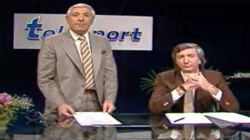 ¿quien mueve? muevo yo, mauro: viale, el primer gran relator del futbol televisado