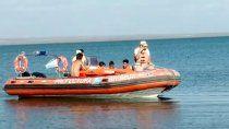 asi fue el rescate de la nena de siete anos en el lago pellegrini